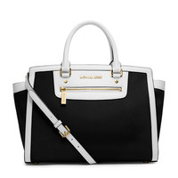 MICHAEL Michael Kors Large Selma Top-Zip Satchel