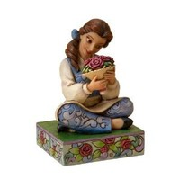 Disney Traditions designed by Jim Shore for Enesco Belle Figurine 4.25 IN