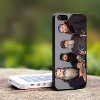 Cast of Duck Dynasty 7 - For iPhone 5 Black Case Cover