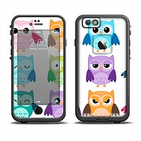The Emotional Cartoon Owls Apple iPhone 6 LifeProof Fre Case Skin Set