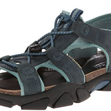 KEEN Women's Sarasota Sandal, Indian Teal, 5 M US