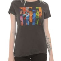 Harry Potter Seven Books Girls T-Shirt