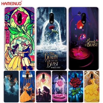 HAMEINUO Beauty And The Beast cover phone case for Nokia 9 8 7 6 5 3  Lumia 630 640 640XL 2018