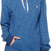 Element Girls Sequel Blue Overdyed Pullover Hoodie at Zumiez : PDP