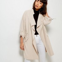 Stone Waterfall Duster Jacket