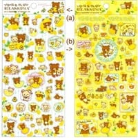 San-X Rilakkuma Lemon Stickers