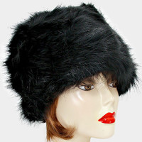 Fur Turban Hat