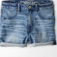 AEO Women's Sky High Shortie (Medium Wash)