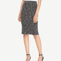 Petite Knit Tweed Pencil Skirt | Ann Taylor