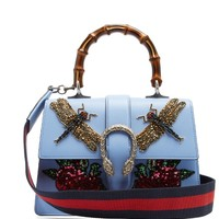 Dionysus medium bamboo-handle leather bag | Gucci | MATCHESFASHION.COM US