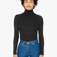 2X2 Turtleneck Long Sleeve Top | American Apparel