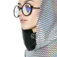 Mosaic Kaleidoscope Chain Glasses