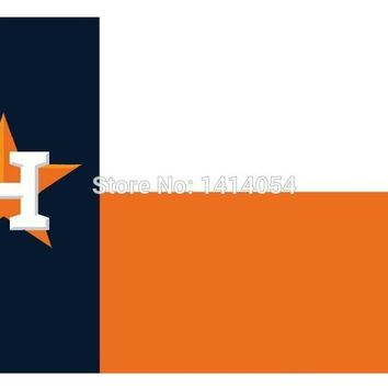 Houston State Fans Astros Flag