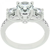 Elizabeth Engagement Ring (size: 09)