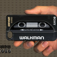Sony Walkman iphone 4 case, Custom iphone case