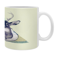 Allyson Johnson Deer And Nature Triangle Coffee Mug