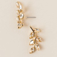 Ranada Leaf Branch Stud Earring