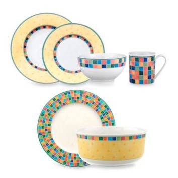 Villeroy & Boch Twist Alea 18-Piece Dinnerware Set
