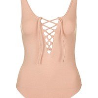 TALL Tie Up Body - Topshop