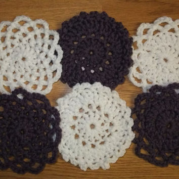 Girl Saturday Motifs Crochet Pattern - Motif Crochet Pattern - Flower Crochet Pattern