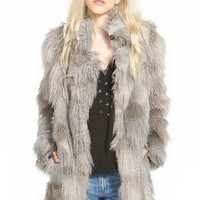 Plenty by Tracy Reese 'Cuddle' Faux Fur Coat | Nordstrom