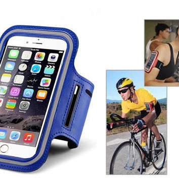 For Samsung Galaxy s3 s4 s5 s6 Egde J5 J7 J1 A3 ACE Young Gym Running Phone Case Waterproof Sports Arm band