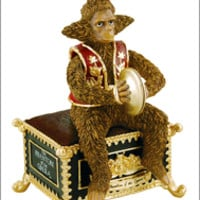Phantom of the Opera the Broadway Musical - Animated Monkey Music Box