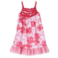 Penny M Floral Ruffle Dress - Toddler Girl, Size: