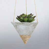 Air Planter, Cement Planter, Hanging Planter, Succulent Planter, Air Plant Holder, Mini Planter, Modern Planter, Concrete Succulent Pot