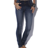 Stacked High Waist Skinny Jean - WetSeal