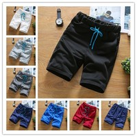 2017 Summer Mens Fashion Half Pant Mens Shorts Casual Shorts Cotton Pants Running Shorts Sport Shorts