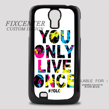 YOLO WHITE - Samsung Galaxy S4 Case