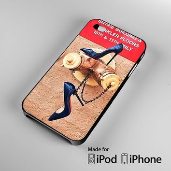 When Thing Heat Up Christian Louboutin A0820 iPhone 4 4S 5 5S 5C 6, iPod Touch 4 5 Cas