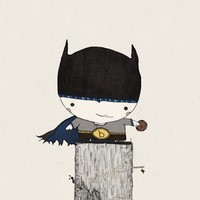 B is for Batman Print 12x12