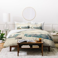 Catherine McDonald Sail NYC Duvet Cover