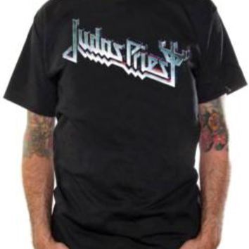 Judas Priest T-Shirt - Devil's Tuning Fork Logo
