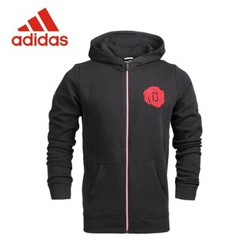 New Arrival Official Adidas Original men's Knitted Hoodie Jacket Sportswear S92362 S92363
