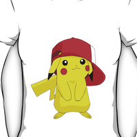 Cute Pikachu Women's T-Shirt