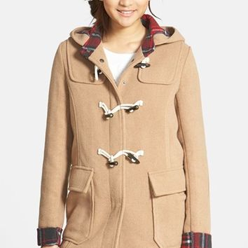 Junior Women's Thread & Supply Hooded Toggle Coat,