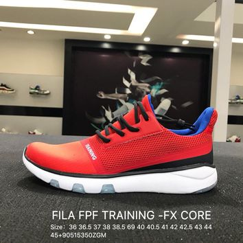 FILA FPF TRAINING -FX CORE Red Women Men Trainning Sports Shoes Sneaker