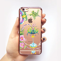 Transparent Enchanted Forest iPhone Case -Transparent Case - Clear Case - Transparent iPhone 6 - Transparent iPhone 6S - Gel Case - Soft TPU