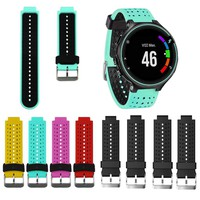 Watch Strap Soft Silicone Replacement Wrist Watch Band for Garmin Forerunner 230/235/630 For galaxy gear S2 Wearable Devices