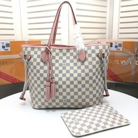 Louis Vuitton Lv Monogram Canvas Neverfull Handbag Tote Bag #14301 - Best Deal Online