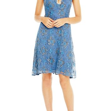 Drew Periwinkle Lace Dress