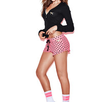 Ruffle Sleep Short - PINK - Victoria's Secret