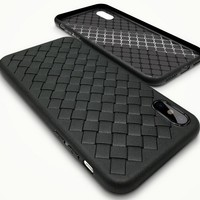 Leather Weave Pattern Case for iPhone X 8 7 6S Plus &Gift Box