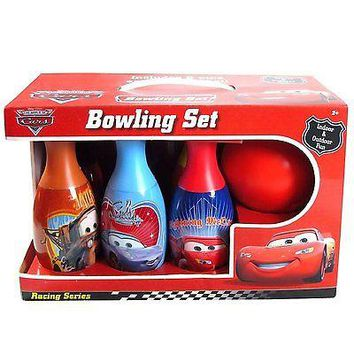 Party Favors Licensed Disney Pixar Cars 3 6 Different Pins Bowling Set