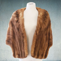 1950s Mink Stole Soft Luxurious Kistler-Collister Albuquerque