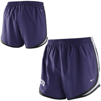 TCU Horned Frogs Nike Women's Tempo Shorts – Purple