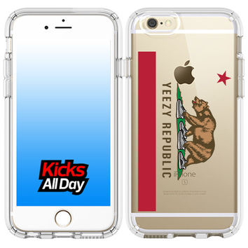 California Flag Logo YZY Republic iPhone Case